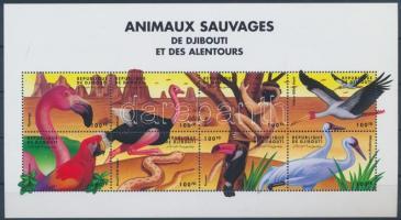 Animals from all over the world minisheet, Állatok a világ minden tájáról kisív
