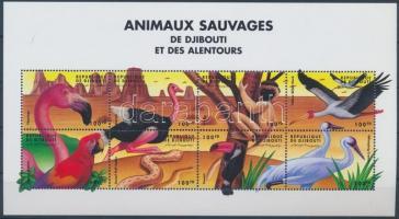 Animals from all over the world mini sheet, Állatok a világ minden tájáról kisív
