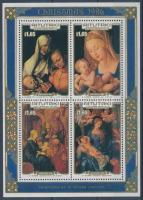 1986 Dürer festmények; Karácsony blokk Mi 66