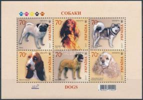 Dog breeds block, Kutyafajták blokk