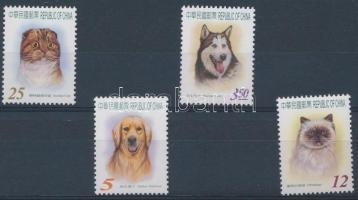Dogs and cats margin set, Kutyák és macskák ívszéli sor