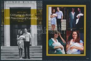 British royal family minisheet, Brit királyi család kisív