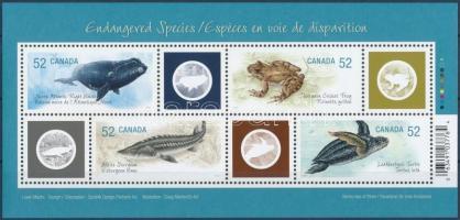 Endangered Species block Veszélyeztetett állatok blokk