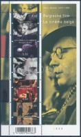 Belgian movie block, Belga film; Henri Storck blokk