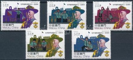 Scout Movement set, 100 éves a cserkészmozgalom sor
