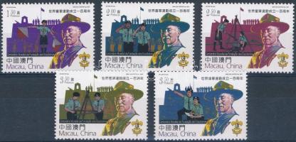 100th anniversary of the Scout Movement set 100 éves a cserkészmozgalom sor