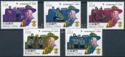 Centenary of Scout Movement set, 100 éves a cserkészmozgalom sor