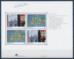 Europa CEPT: contemporary arts block, Europa CEPT: kortárs művészet blokk