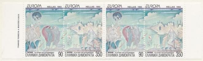 Europa CEPT, Contemporary art stamp-booklet Europa CEPT, Kortárs művészet bélyegfüzet