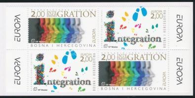 Europe CEPT stamp booklet Europa CEPT bélyegfüzet