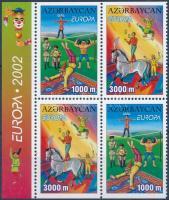 Europa CEPT: Circus stamp-booklet sheet, Europa CEPT: Cirkusz bélyegfüzetlap