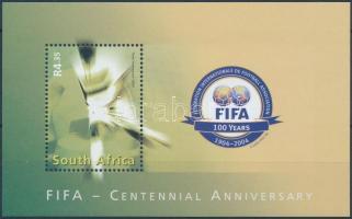 2004 100 éves a FIFA blokk Mi 101