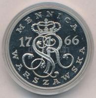 Lengyelország DN Mennica Warszawszka (Varsói verde) 1766 jelzetlen Ag(?) emlékérem (35mm) T:2(PP) Poland ND Mennica Warszawszka (Warsaw Mint) 1766 Ag(?) commemorative medal (35mm) C:XF(PP)