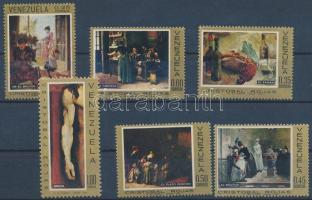 Cristóbal Rojas' paintings set Cristóbal Rojas festmények sor