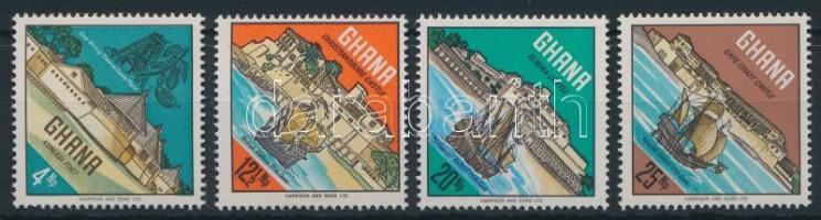 Historical castles and ships set, Történelmi várak és hajók sor