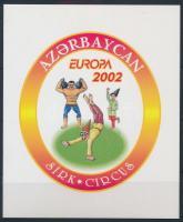 Europa CEPT: Circus stamp-booklet, Europa CEPT Cirkusz bélyegfüzet