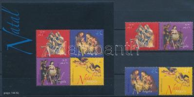2003 Karácsony sor párokban Mi 1711-1714 + blokk Mi 107