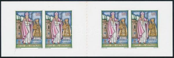 Pope Benedict XVI. self-adhesive stamp-booklet, XVI. Benedek pápa utazásai öntapadós bélyegfüzet
