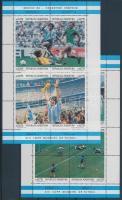 Football World Cup, Mexico minisheet set, Labdarúgó VB, Mexikó kisívsor