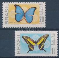 1971 Lepkék sor Mi 1279-1280