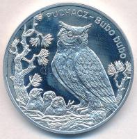 Lengyelország 2005. 20Zl Ag Bagoly - Bubo bubo T:1(PP) Poland 2005. 20 Zlotych Ag Owl - Bubo bubo C:UNC(PP)  Krause Y#531