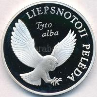 Litvánia 2002. 5L Ag Bagoly - Tyto Alba T:PP fo. Lithuania 2002. 5 Litai Barn owl in flight - Tyto Alba C:PP spotted Krause KM#132