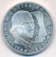 Németország 1994G 10M Ag Johann Gottfried Herder T:1-(PP) Germany 1994G 10 Mark Johann Gottfried Herder C:AU(PP)
