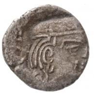 Nyugat-India (nyugati szatrapák) ~35-405. Drachma Ag (1,8g) T:3 Western India (Western Satraps) ~35-405. Drachm Ag (1,8g) C:F