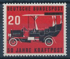 50th anniversary of mail car, A postaautó 50. évfordulója
