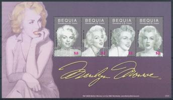 Marilyn Monroe mini sheet, Marilyn Monroe kisív