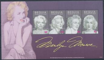 Marilyn Monroe mini sheet Marilyn Monroe kisív