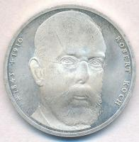Németország 1993J 10M Ag Robert Koch T:1-,2 Germany 1993J 10 Mark Ag Robert Koch C:AU,XF