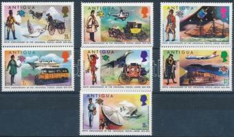 1974 100 éves az UPU sor Mi 323-329 + blokk Mi 13 (2db stecklapon)