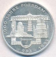 Németország 1993F 10M Ag 1000 éves Potsdam T:1-(PP) Germany 1993F 10 Mark Ag 1000th Anniversary - Potsdam C:AU(PP)