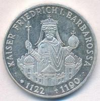 NSZK 1990F 10M Ag I. Barbarossa Frigyes T:1-(PP) kis ph. FRG 1990F 10 Mark Ag Frederick I Barbarossa C:AU(PP) small edge error