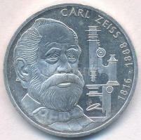 NSZK 1988F 10M Ag Carl Zeiss T:1-(PP)  FRG 1988F 10 Mark Ag Carl Zeiss T:AU(PP) Krause KM# 169