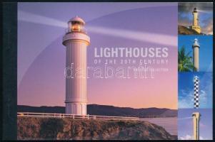 Lighthouses stamp-booklet, Világítótornyok bélyegfüzet