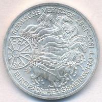 NSZK 1987G 10M Ag Európai Közösség T:1- FRG 1987G 10 Mark Ag 30 Years of European Unity C:AU