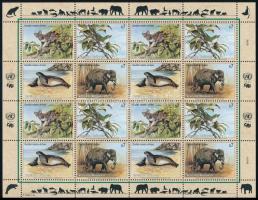 Endangered animals (II.) minisheet Veszélyeztetett állatok (II). kisív