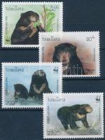 WWF: Malaysian bears set, WWF: Maláj medvék sor
