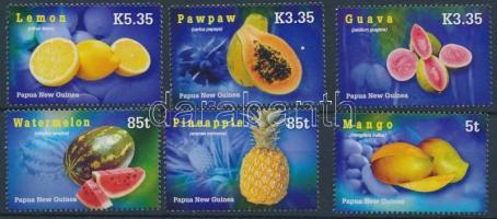 Tropical fruits set, Trópusi gyümölcsök sor