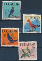 1958 Trópusi madarak sor Mi 981-984