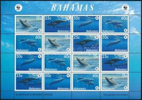 WWF Whales minisheet, WWF: Bálnák kisív