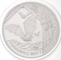 Lengyelország 2010. 20Zl Ag Patkósdenevér T:PP Poland 2010. 20 Zlotych Ag Horseshoe Bats C:PP Krause Y#679
