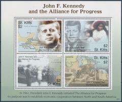 Kennedy mini sheet, Kennedy kisív