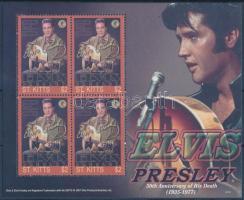 Elvis Presley mini sheet Elvis Presley kisív