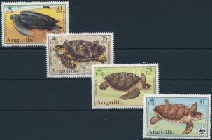 1983 WWF Teknősök sor Mi 541 - 544 A