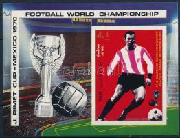 Football World Cup imperforated block, Futball világbajnokság vágott blokk