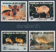 WWF Zebra-antelope set, WWF: Zebra-bóbitásantilop sor