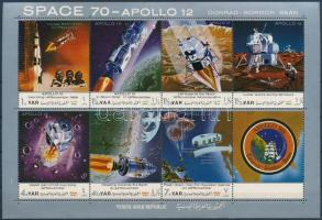 Apollo 12 (I.) minisheet, Apollo 12 (I.) kisív